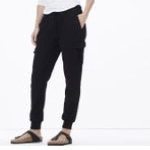 James Perse Knit Twill Slim Cargo Pants